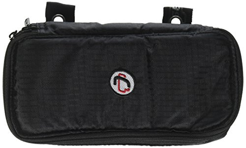 Case-it The Pouch Zippered Pencil Case with Grommets, Black, PLP-02-BLK