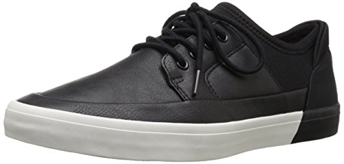 Aldo Men's Haidia Fashion Sneaker, Black Leather, 12 D US