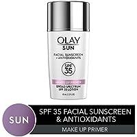 Olay Facial Sunscreen & Antioxidants Face Lotion+ Makeup Primer 1.3 Fl Oz