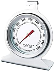 Oven Thermometer Large Dial Oven Thermometer Large Number Oven Thermometer Easy to Read Hang or Stand in Oven with Accurate Temperature Reading