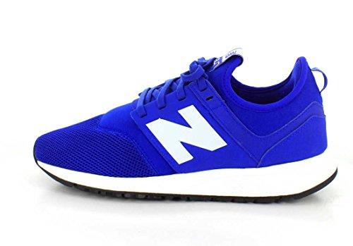 New Balance , Herren Sneaker weiß blau / weiß, weiß - blau / weiß - Größe: 46.5