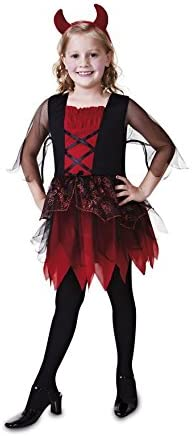 My Other Me Disfraz de Diablita para niña: Amazon.es: Juguetes y ...
