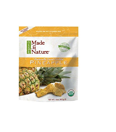 Made in Nature Organic Pineapple 4-pack