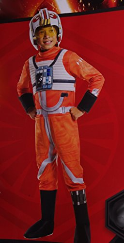 Boys Star Wars Poe X Wing Fighter Costume with Mask Small 4-6