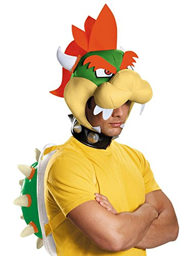 Disguise Men's Bowser Costume Kit - Adult, Multi, One Size -