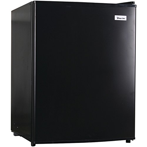 Magic Chef MCAR240B2 2.4 cu.ft. All Refrigerator, Black (Compact Fridge No Freezer)