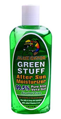 Aloe Gator Green Stuff After Sun Moisturizer, 4 Ounce