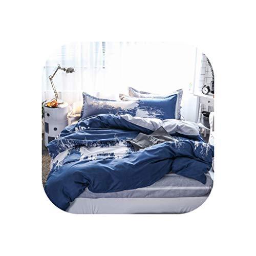 Comforter Sets A B Side Cartoon Duck Bedding Set Quilt Cover Bed Set Duvet Cover Flat Sheet Pillowcase Full Queen King,18,Twin Size 3Pcs,Flat Bed Sheet