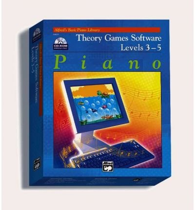 [(Theory Games for Windows/Macintosh (Version 1.5) -- Levels 3, 4, 5: CD-ROM)] [Author: Willard Palmer] published on (September, 1995)