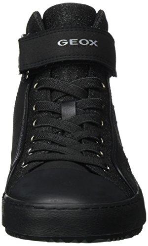 black Geox Adulte Baskets J Kalispera Noir Mixte I Hautes 6w86Crq