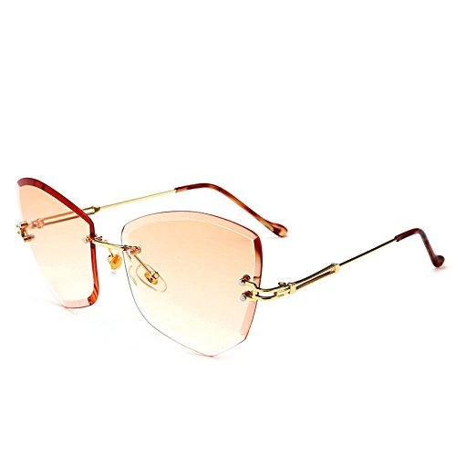 A Protección Gato Sol Película América Personalidad Mujer Marina De De Creativo Gafas Viento Sin De Gradiente Europa Prueba Y Ojos Protección De Marco Color Los Moneda 05 07 Moda Para Ojo Forma Visera UV p10aRqw