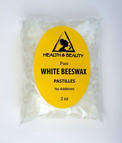 Cire d'abeille blanche abeilles cire bio Pastilles barbes Premium premier Grade 100 % Pure 2 oz