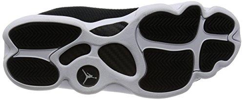 Nike 845098-006 Chaussures de Basketball, Homme, Noir (Black / White), 42