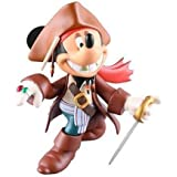 UDF MICKEY MOUSE (as JACK SPARROW)(ノンスケール PVC製塗装済み完成品)