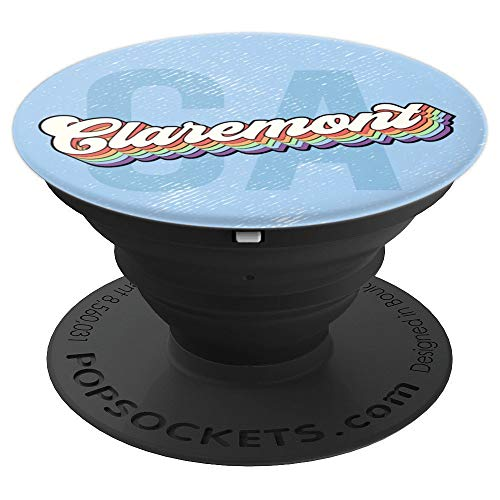 Vintage Claremont California - PopSockets Grip and Stand for Phones and Tablets