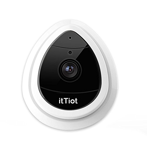 41jJCCFjq8L - itTiot Wireless IP Camera, WiFi Security 720P Home IP Camera for Pet Monitor with Built-in Microphone, One Way Audio, Day Vision Only