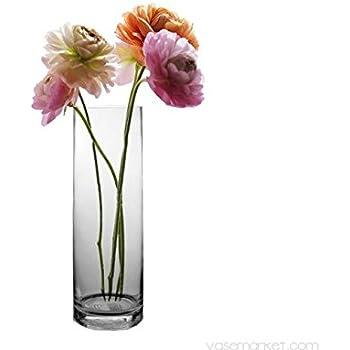 Amazon Cylinder Vase H 5 D 5 12 Pcs Home Kitchen