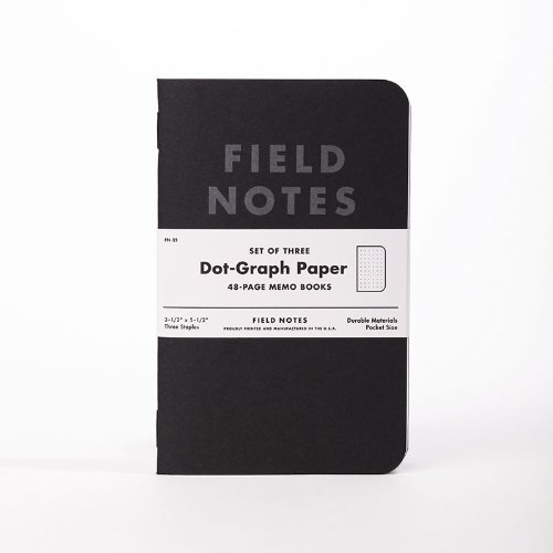 best field notes pitch black edition pack dotgrid memo notebooks with micro onde pas cher but. Black Bedroom Furniture Sets. Home Design Ideas