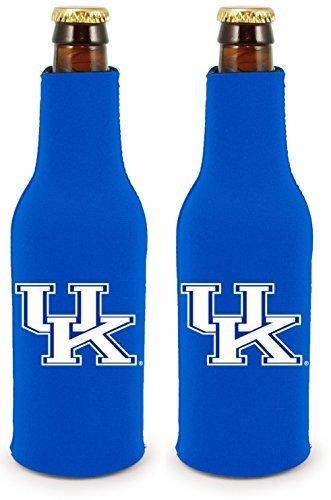 Kentucky Ice - NCAA College 2014 Team Logo Color Bottle Suit Holder Holder Koozie Cooler 2-Pack (Kentucky Wildcats)