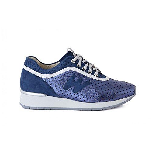 Melluso Sneaker Agat129a - R2902 Bleu-blanc