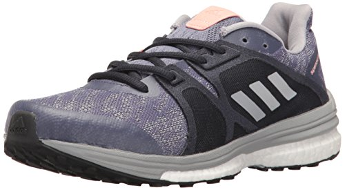 adidas Performance Women's Supernova Sequence 9 w Running Shoe, Super Purple/Metallic/Silver/Mid Grey, 6 M US