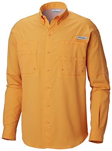 (Columbia Men's PFG Tamiami II Long Sleeve Shirt - Big , Koi, Size 3 x /Tall )