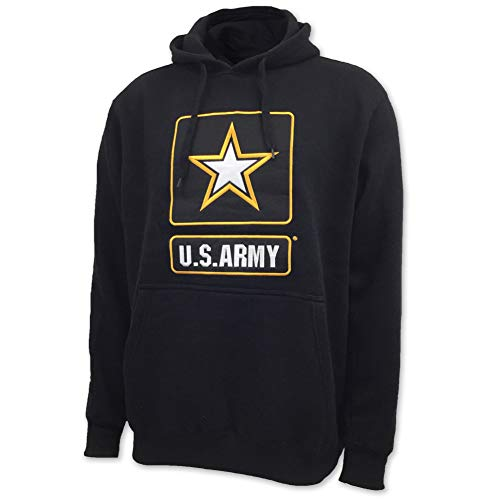 - US Army Big Star Fleece Hood, medium, black