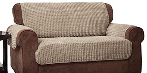 Innovative Textile Solutions Puff Sofa Protector, Natural