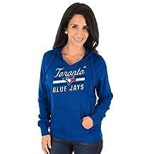 Toronto Blue Jays Women's Prime Example Pullover Fleece Hoodie