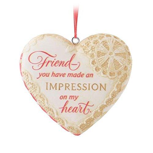 Hallmark Keepsake Ornament Friends of The Heart 2014