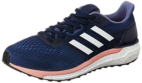 Supernova Adidas Zapatillas midnight Grey De Mujer Running still White footwear Breeze Azul Para fqdqnTB
