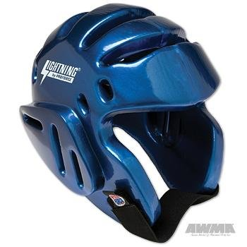 Pro Force Lightning Sparring Headgear - Blue - Large ()