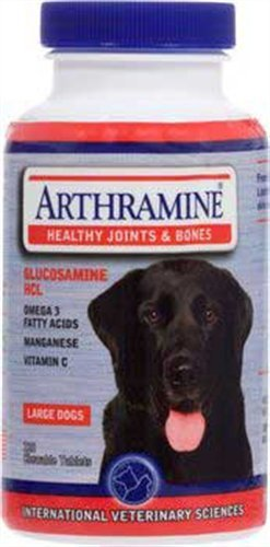 Arthramine Healthy Joints and Bones (Lg Breed) Chewable Tablets 120 ct, My Pet Supplies