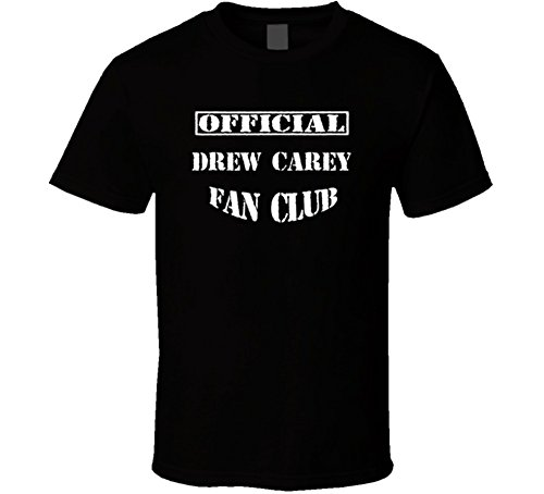 Drew Carey Fan Club Cool Comedian Stand Up Funny Comedy T Shirt Xl Black