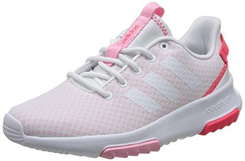 Blanc 000 Pink De lt Racer Femme Chaussures Cloudfoam ftwwht Adidas Tr Trail ftwwht nFT0xP7