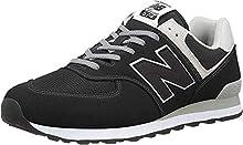 New Balance Hombre 574v2-core Trainers Zapatillas, Negro (Black), 44 EU