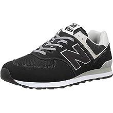 New Balance Hombre 574v2-core Trainers Zapatillas, Negro (Black), 47.5 EU