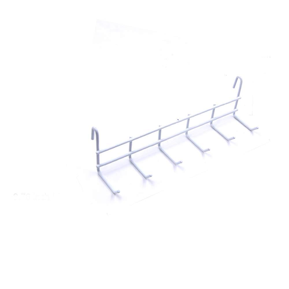 ZONYEO White Grid Panel Display Hooks, Grid Hook for Gridwall, Display Hooks for Panel 2.56'' 2.76''