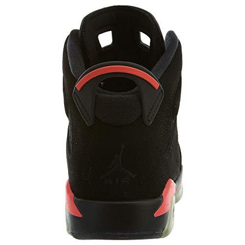 23 Nike Bg Rood Zwart zwart 6 Infrarood Retro Junior Jordan Air vHnw7q