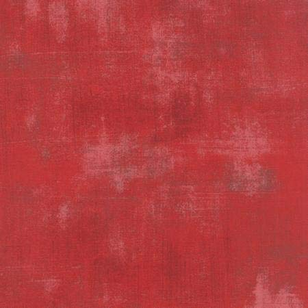 Moda Fabrics Basic Grey Grunge Basics Cherry Red