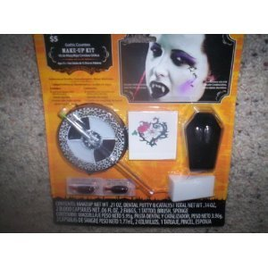 Gothic Countess Make Up Kit/Halloween Gothic Make-Up -