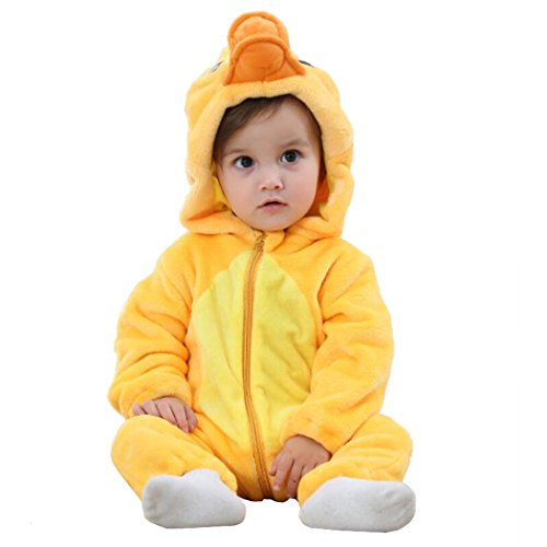 Unisex-baby Romper Animal Onesie Costume Cartoon Outfit Homewear