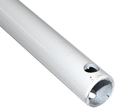 Manivelle Volet Roulant ø12 Mm Acier Laqué Blanc Long 1200 Mm