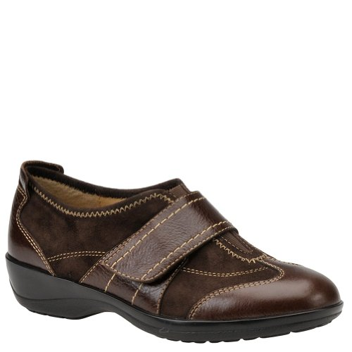 softspots Aeryn Color: Chocolate Leather/Chocolate Suede Width: Wide Womens Size: 6.5