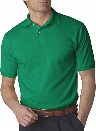 Jerzees Herren Poloshirt Grün Kelly XL