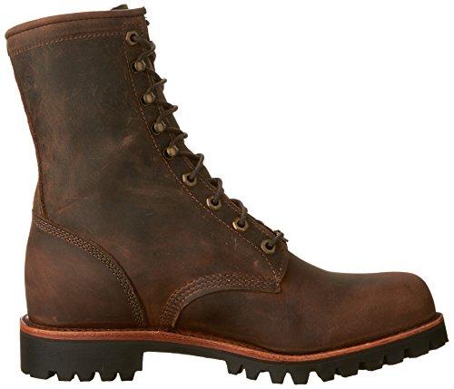 Chippewa Mens 8 Boot In Pelle Apache Cioccolato
