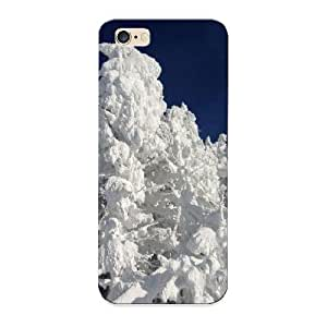Christmas Gift - Tpu Case Cover For Iphone 6 Plus Strong Protect Case - Fresh Snow In Quebec Design