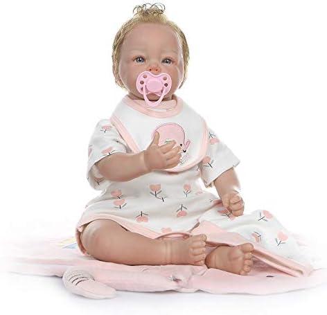Brow Blonde Small Genesis Heat Set Reborn Baby Paints