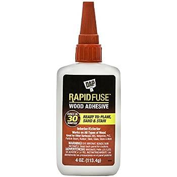 DAP 00157 4 oz Rapid Fuse Fast Curing Wood Adhesive