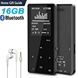 MP3 Music Player with Bluetooth, ASINNO 16GB Digital Lossless MP3/MP4 Audio Player